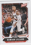 2018 Panini The National Damian Lillard Card