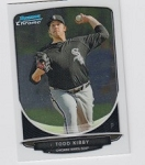 2013 Bowman Chrome Mini Todd Kibby Card