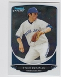 2013 Bowman Chrome Mini Tyler Gonzales Card