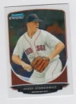 2013 Bowman Chrome Mini Teddy Stankiewicz Card