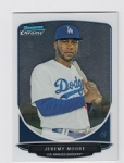 2013 Bowman Chrome Mini Jeremy Moore Card