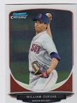 2013 Bowman Chrome Mini William Cuevas Card