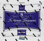 2017 Panini National Treasures Racing Hobby Box.  8-Hits per box