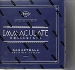 2016-17 Immaculate collection collegiate basketball hobby Box