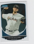 2013 Bowman Chrome Mini Trevor Williams Card