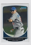 2013 Bowman Chrome Mini Christian Villanueva Card