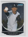 2013 Bowman Chrome Mini Nestor Molina Card