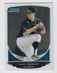 2013 Bowman Chrome Mini Sean Townsley Card