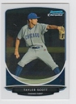 2013 Bowman Chrome Mini Taylor Scott Card