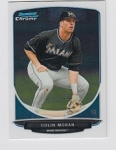 2013 Bowman Chrome Mini Colin Moran Card