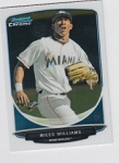 2013 Bowman Chrome Mini Miles Williams Card