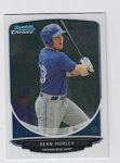 2013 Bowman Chrome Mini Sean Hurley Card