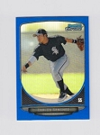 Blue Refractor Bowman Chrome Mini Carlos Sanchez Card