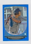Blue Refractor Bowman Chrome Mini Gosuke Katoh Card