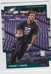 2017 Panini Donruss Football Sidney Jones Card