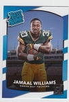 2017 Panini Donruss Football Jamaal Williams Card