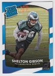 2017 Panini Donruss Football Shelton Gibson Card