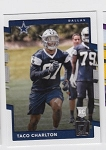 2017 Panini Donruss Football Taco Charlton Card