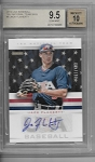 2013 Panini USA Jack Flaherty prospect USA Auto rc /499 BGS 9.5 Gem mint