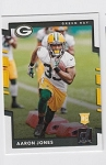 2017 Panini Donruss Football Aaron Jones Card