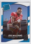 2017 Panini Donruss Football Joe Williams Card