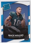 2017 Panini Donruss Football Mack Hollins Card