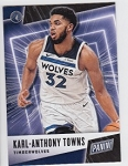 2019 Panini Father's Day Karl-Anthony Towns Card