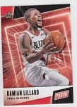 2019 Panini Father's Day Damian Lillard Card