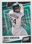2019 Panini Father's Day Rickey Henderson Card