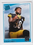 2018 Donruss Rookie Jaylen Samuels Card
