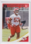 2018 Dunruss Rookie Breeland Speaks Card