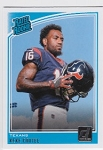 2018 Dunruss Rookie Keke Coutee Card