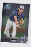 2017 Bowman Chrome Mini Prospect RC Phil Bickford Card