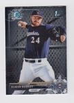 2017 Bowman Chrome Mini Prospect RC Brandon Woodruff Card
