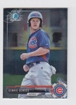 2017 Bowman Chrome Mini Prospect RC Donnie Dewees Card