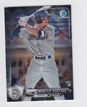 2017 Bowman Chrome Mini Prospect RC Hunter Renfroe Card