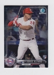 2017 Bowman Chrome Mini Prospect RC Jorge Alfaro Card