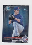 2017 Bowman Chrome Mini Prospect RC Francisco Rios Card
