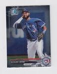 2017 Bowman Chrome Mini Prospect RC Richard Urena Card