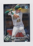 2017 Bowman Chrome Mini Prospect RC Ryon Healy Card