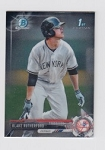 2017 Bowman Chrome Mini Prospect RC Blake Rutherford Card