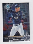 2017 Bowman Chrome Mini Prospect RC Jacob Nottingham Card