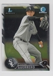 2016 Bowman Chrome Jordan Guerrero Prospect Rookie Card