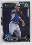 2016 Bowman Chrome Anderson Miller Prospect Rookie Card