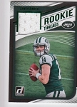 2018 Donruss Sam Darnold Green parallel Rookie JERSEY rc