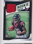 2018 Donruss Keke Coutee Green parallel Rookie JERSEY rc