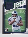 2018 Donruss Michael Gallup Green parallel Rookie JERSEY rc
