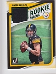 2018 Donruss Mason Rudolph Green parallel Rookie JERSEY rc