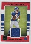 2018 Donruss Evan Engram Green parallel Rookie JERSEY rc