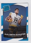 2017 Panini Donruss JuJu Smith-Schuster Rated Rookie rc